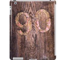 90 iPad Case/Skin
