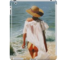 iPad Case - Girl on the Beach iPad Case/Skin