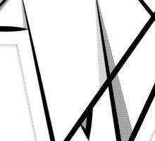 Abstract Rhino Sticker