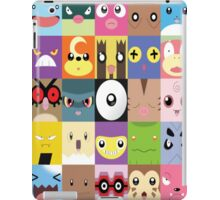 Pokemon Faces- Gotta name them all! iPad Case/Skin