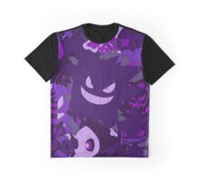 Ghost Pokemons Graphic T-Shirt