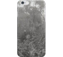 Analogue photograph of the woods iPhone Case/Skin