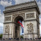 Arc de Triomphe by latitude54photo