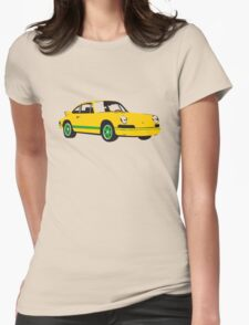 voiture / car Womens Fitted T-Shirt