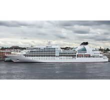 cruise ship Photographic Print