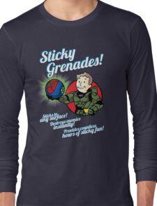 Sticky Grenades! Long Sleeve T-Shirt