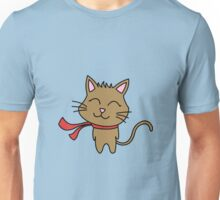 Happy Kitty Wind Unisex T-Shirt