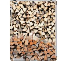 Firewood iPad Case/Skin