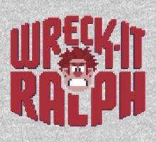 Wreck-It Ralph One Piece - Long Sleeve