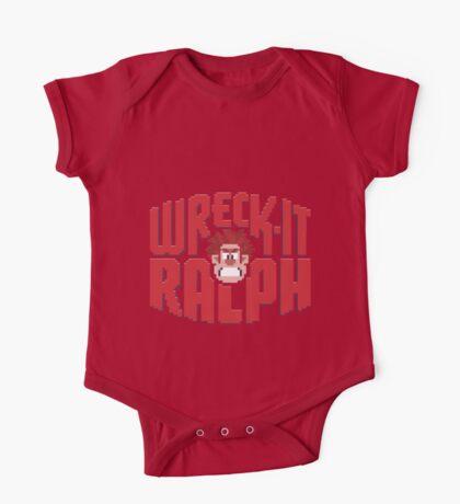 Wreck-It Ralph One Piece - Short Sleeve