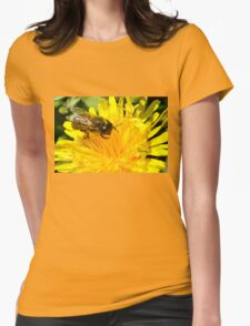 Bee-licious Womens Fitted T-Shirt