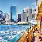 Arriving At Circular Quay by Eve Parry