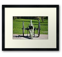 field cannon Framed Print