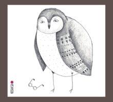 mr.Owl Baby Tee