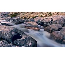 Frosty Creek Photographic Print