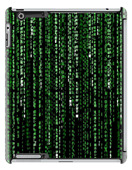 matrix style ipad by artvagabond