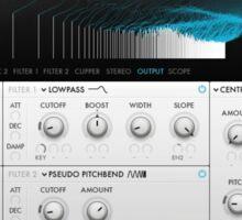 VST Synthesizer Screenshot Sticker