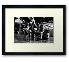 Piston Broke Framed Print