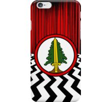 The Bookhouse Boys vs The Black Lodge iPhone Case/Skin