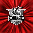 Slays Dragons on the Weekend - iPad by ACImaging