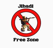 Jihadi Free Zone by #fftw Unisex T-Shirt