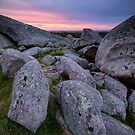 Dog Rocks Twilight - Batesford, Victoria, Australia by Sean Farrow