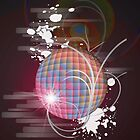 Discoball Delight - iPad by ACImaging