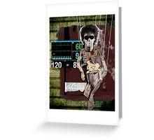 Icons: El Bello Durmiente Greeting Card
