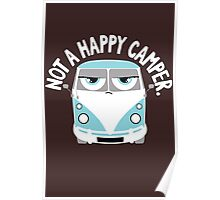 Unhappy Camper Poster
