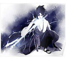 Sasuke Uchiha Painting Poster