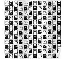 A Chess of Cats Poster