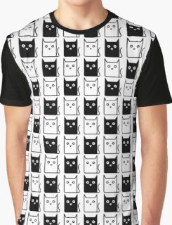 A Chess of Cats Graphic T-Shirt