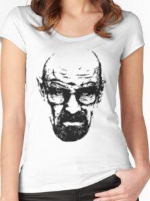 Heisenberg Retro Style Women's Fitted Scoop T-Shirt