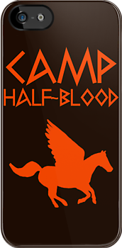 Camp Half-Blood - Orange Logo by katemonsoon