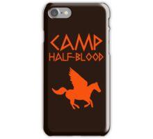 Camp Half-Blood - Orange Logo iPhone Case/Skin