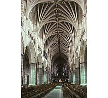 Nave Exeter Cathedral 19810114 0004 Photographic Print