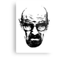 Heisenberg Retro Style Metal Print