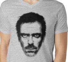 Dr. House Retro Style Mens V-Neck T-Shirt
