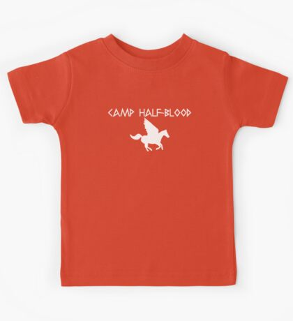 Camp Half-Blood - White Logo Kids Tee