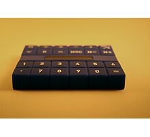 Calculate It ! Photographic Print
