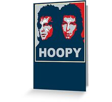Vote Zaphod Beeblebrox Greeting Card