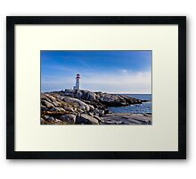 Peggy's Cove Lighthouse, Nova Scotia #2 Framed Print