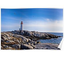 Peggy's Cove Lighthouse, Nova Scotia #2 Poster