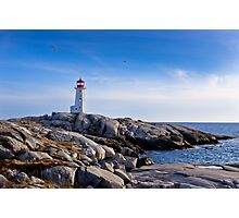 Peggy's Cove Lighthouse, Nova Scotia #2 Photographic Print