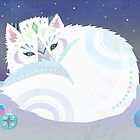 Arctic Fox by tiasakura