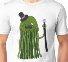 Mr Stinger the Gentleman Jellyfish in green (again) Unisex T-Shirt