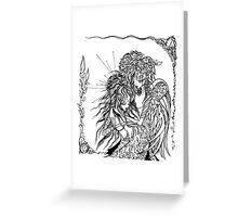 Embrace Greeting Card