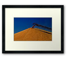 Grain Harvest Framed Print