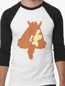 PKMN Silhouette - Buneary Family Men's Baseball ¾ T-Shirt