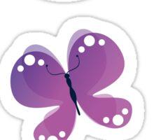 Flutterby Sticker